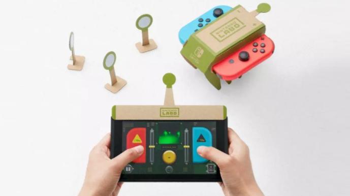 پیشرفت در طراحی اسباب بازی با Nintendo Labo