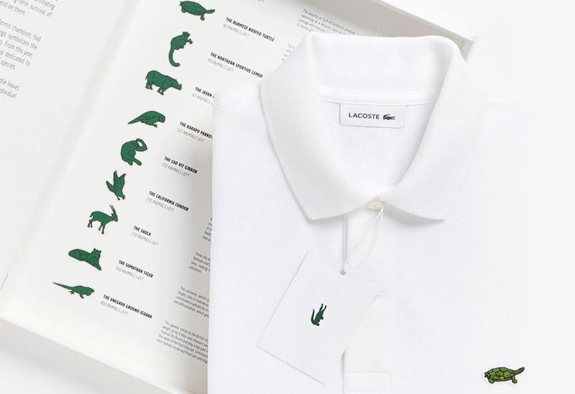 کمپانی lacoste تصویر 10 حیوان در معرض خطر انقراض را جایگزین لوگوی کروکودیل میکند.