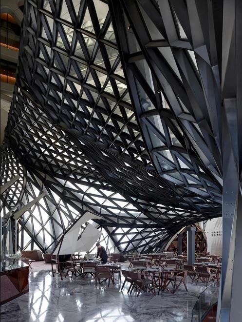 طراحی هتل Morpheus توسط معماران زاها حدید (ZHA)
