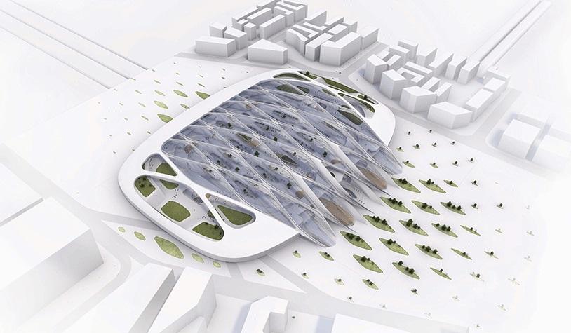 نمونهای از طراحی پایدار، سفر از آمستردام به فرانکفورت در 53 دقیقه؟