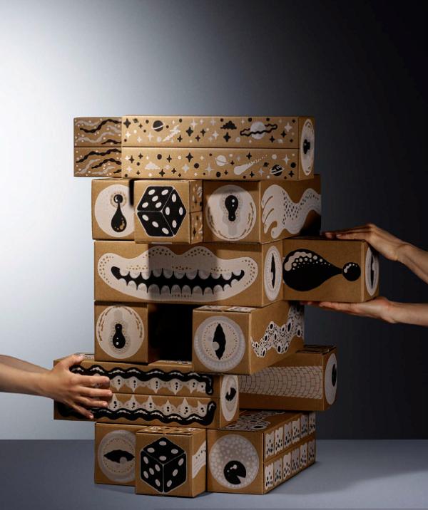طراحی بازی : مجموعه مبتکرانه ایکیا خلاقیت هر دو گروه پیر و جوان را تحریک می کند
