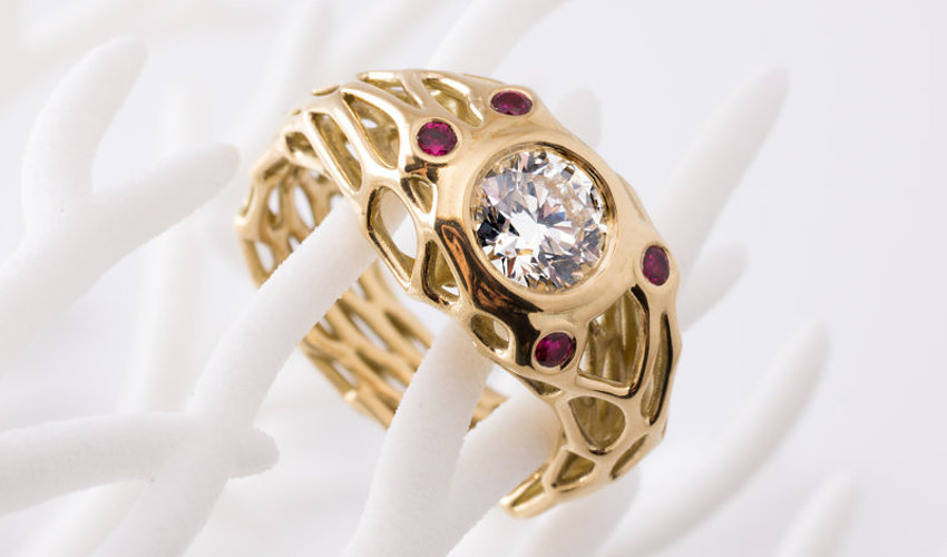 معرفی برترین جواهراتی که به وسیله پرینتر سهبعدی ساخته شدهاند.