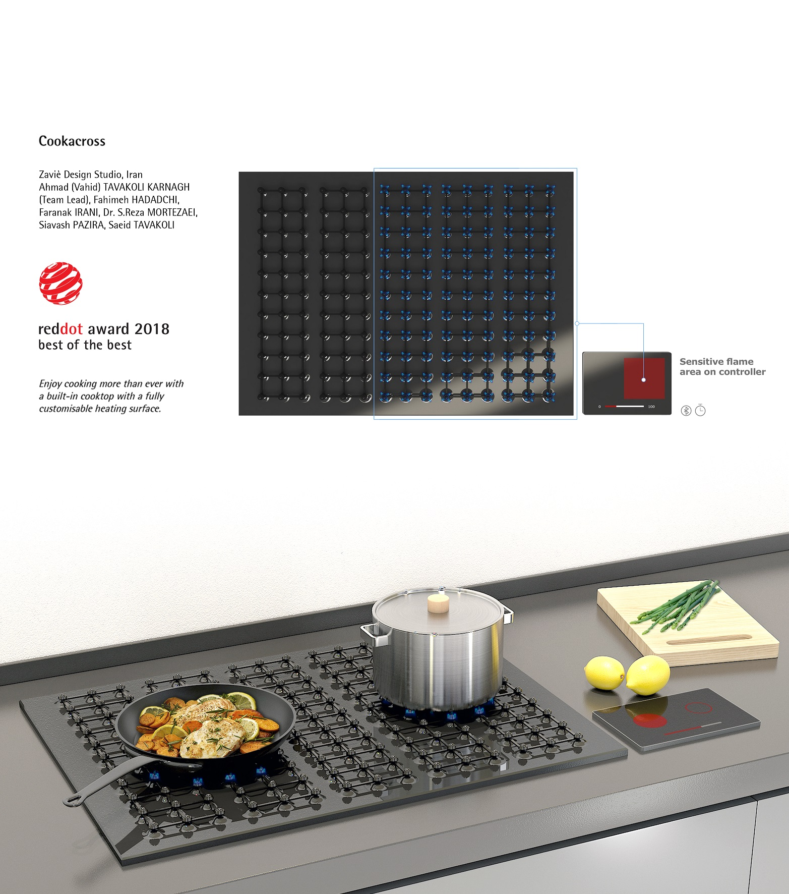 طراحی محصول - قرار گرفتن نام استدیوی طراحی زاویه در رنکینگ برترین دیزاین استدیوهای آسیا پسیفیک از نگاه رددات