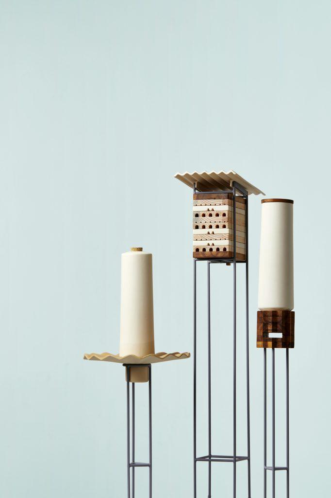 طراحی خانه برای زندگی زنبورهای گوشهنشین شهری! | طراحی محیط زیست
