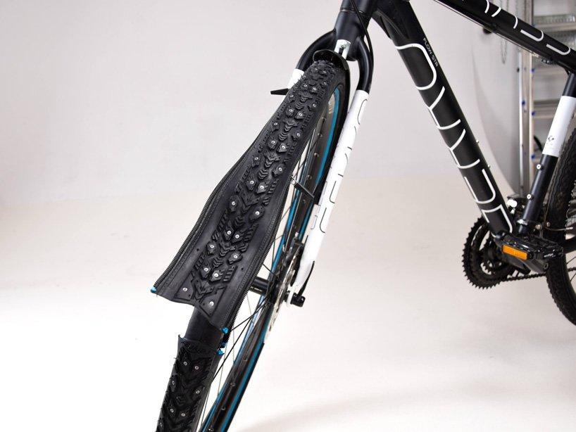 نوآوری در طراحی محصول ؛ retyre، تایر دوچرخهای که در چند ثانیه تعویض میشود.
