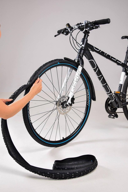 نوآوری در طراحی محصول؛ retyre، تایر دوچرخهای که در چند ثانیه تعویض میشود.