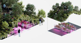 طراحی پایدار در پرورش گیاه: تام دیکسون و ایکیا از باغ آزمایشی برای آینده زراعت شهری رونمایی کردند.