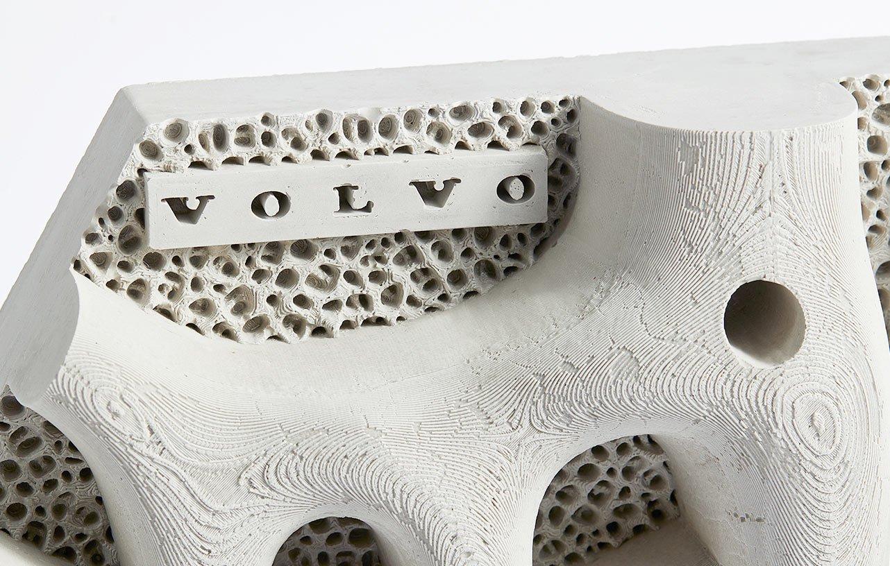 """طرح """"دیواره ساحلی زنده"""" VOLVO با پرینت سهبعدی برای نجات اقیانوسها از آلودگی پلاستیک!"""