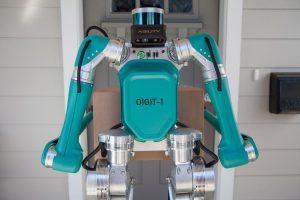 طراحی روبات برای تحویل کالای توسط شرکت فورد!