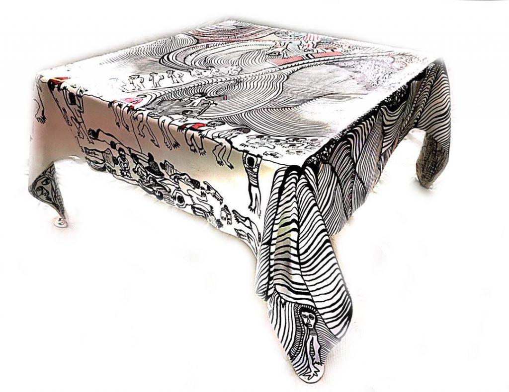 طراحی میز | کرسیواره؛ نمایشگاه سازههای دکوراتیو