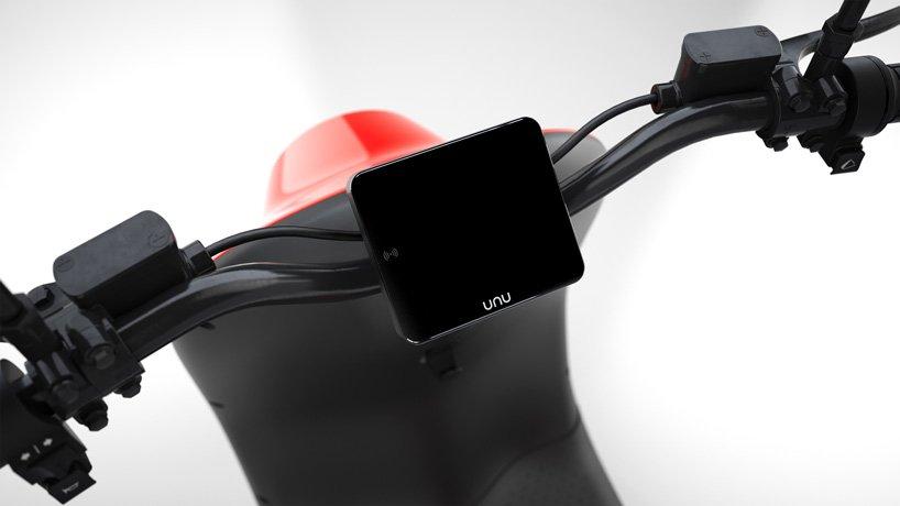 طراحی و توسعه محصول اسکوتر - اسکوتر برقی هوشمند و اشتراکی UNU