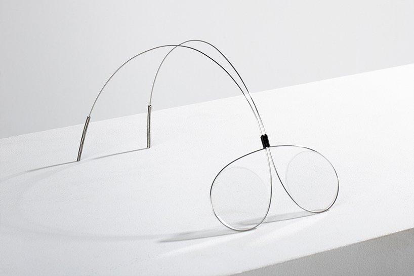 طراحی عینک یک دلاری