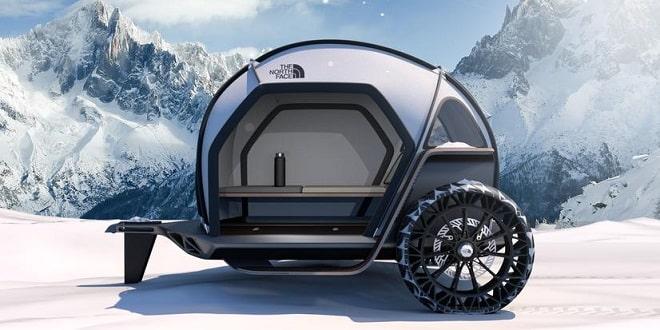 همکاری BMW با برند ورزشی نورث فیس در طراحی خودرو کمپر