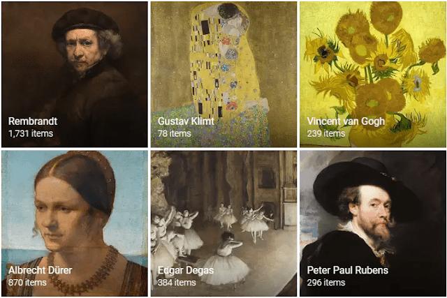 معرفی ابزارهای گوگل برای آموزش هنر