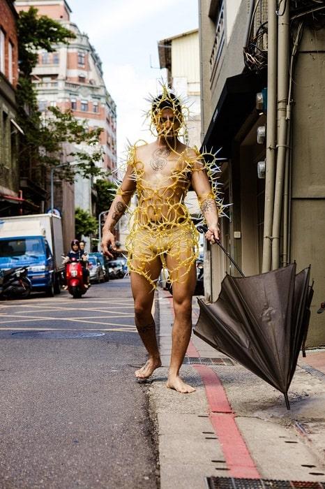 طراحی لباس با پلاستیکهای بازیافتی!