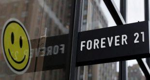 شرکت طراحی و تولید پوشاک Forever 21 اعلام ورشکستگی کرد.
