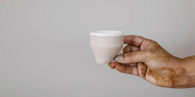 طراحی فنجان با الهام از تپههای شنی