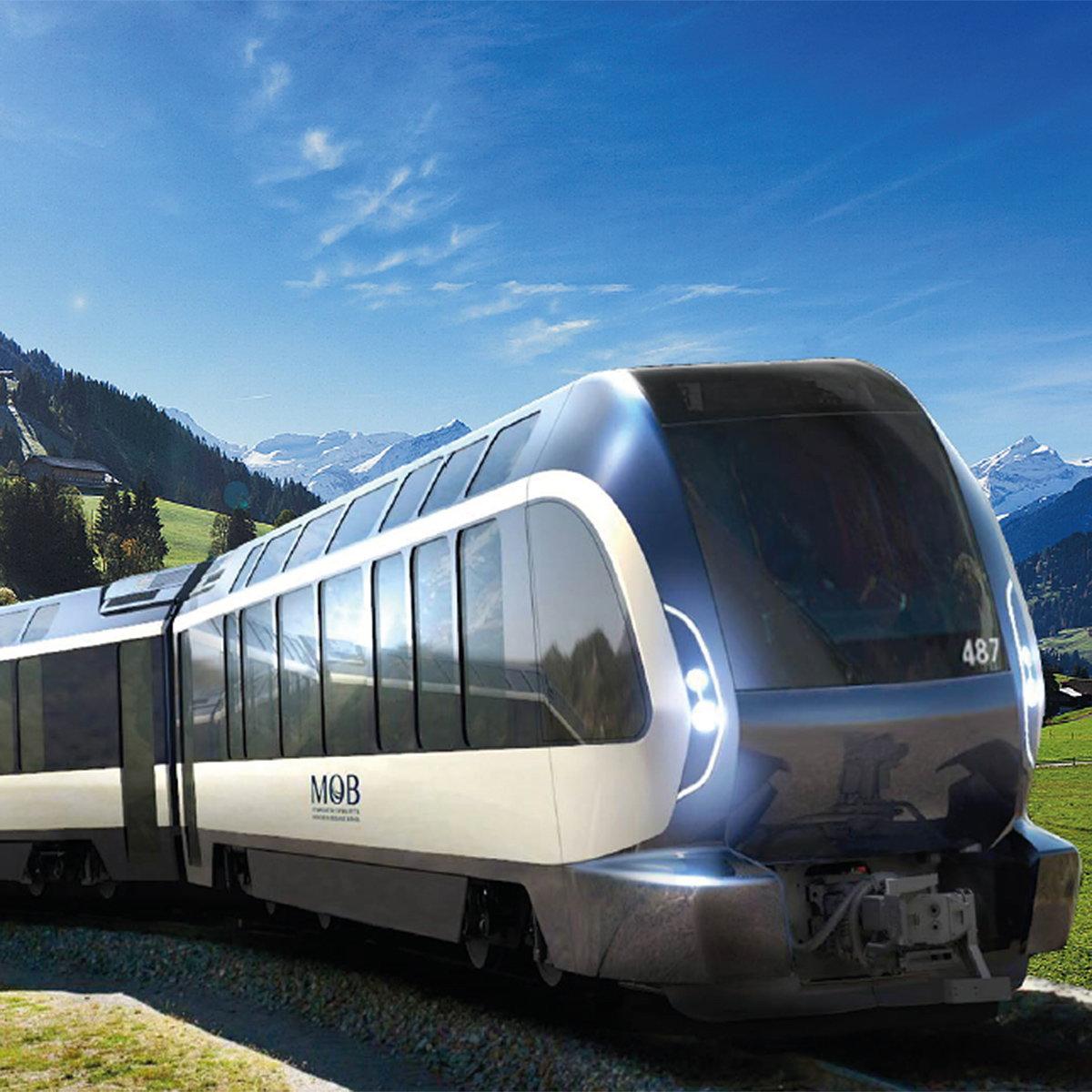 طراحی قطار با هدف گردشگری در سوئیس