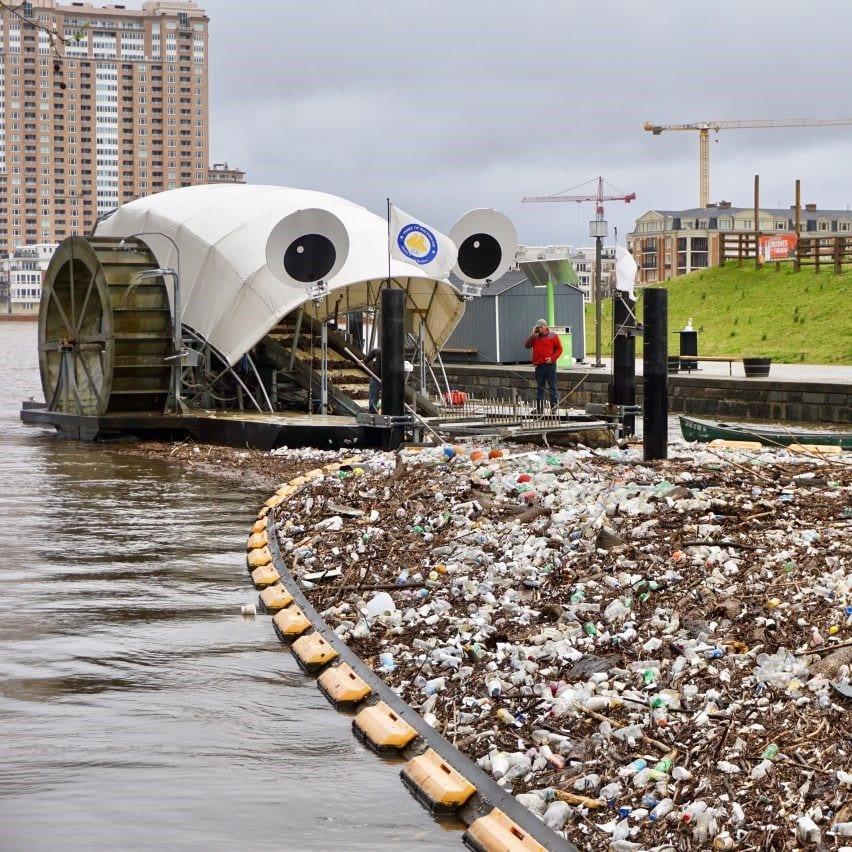 معرفی چهار محصول طراحی شده برای جمعآوری پلاستیک در رودخانهها