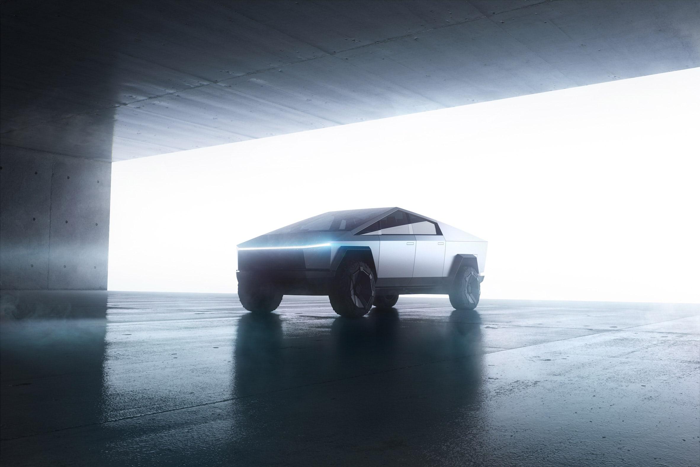 نگاهی به طراحی خودرو برقی آفرود سایبرتراک تسلا