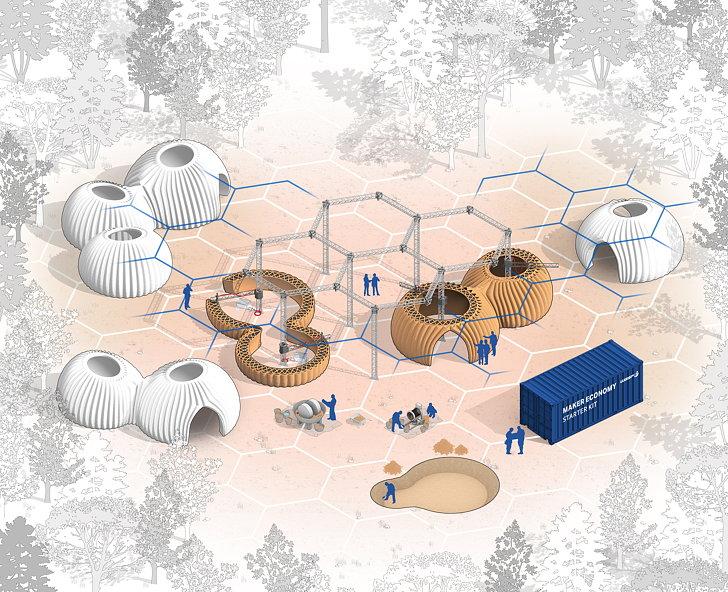 خانههای چاپی با پرینتر سه بعدی راهحل پایدار برای مشکل مسکن در جهان؟